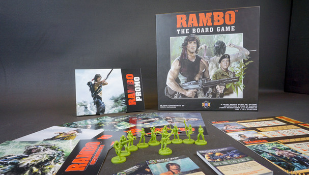 Rambo the Board Game Available Now!