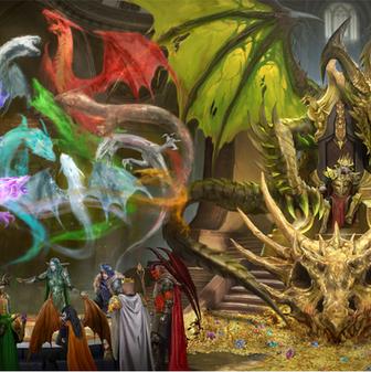 Dragon Thrones Cover
