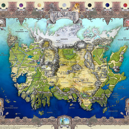 Talislanta Map