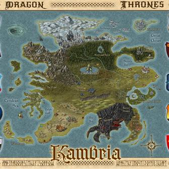 Dragon Thrones World Map