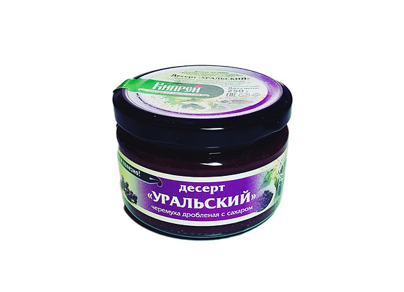 Десерт «Уральский»  - ЧЕРЕМУХА ДРОБЛЕНАЯ С САХАРОМ