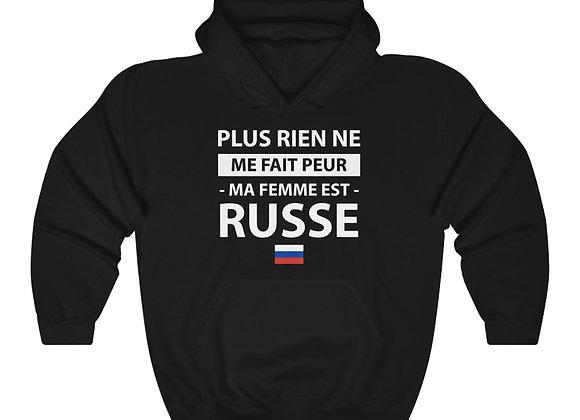 Copy of Sweatshirt à capuche - ma femme est russe