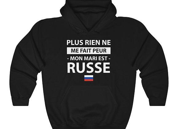 Sweatshirt à capuche - mon mari est russe