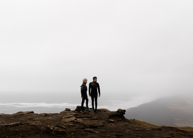 Music duo in Iceland