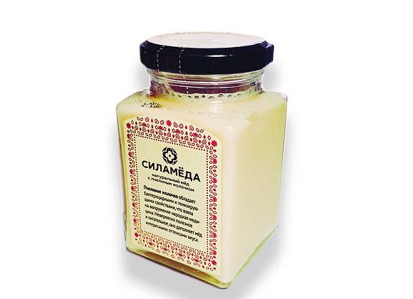 Натуральный мед с пчелиным молочком