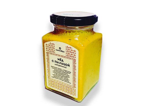 Мед с пыльцой «Мусихин»