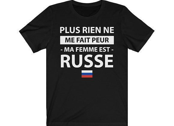 T-shirt MA FEMME EST RUSSE