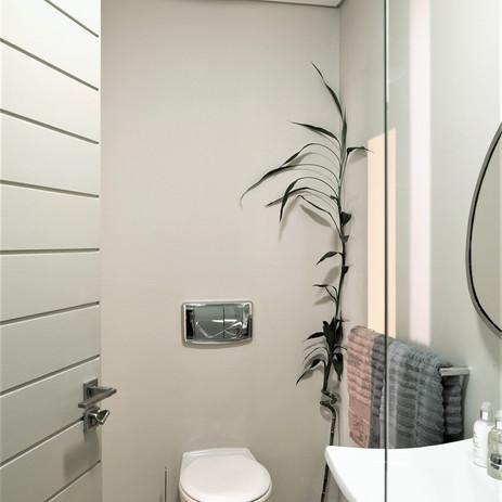 Bathroom in bedroom one
