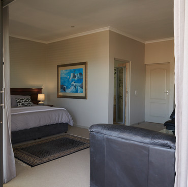 View from balcony into second bedroom