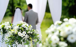 Symbolic wedding in Italy