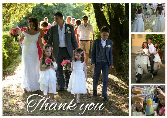 Marriage in Tuscany, Italy