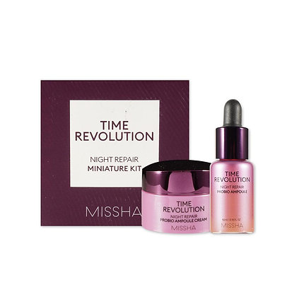Missha Time Revolution Night Repair Probio Miniature Kit
