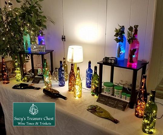 Suzy's vendor show setup