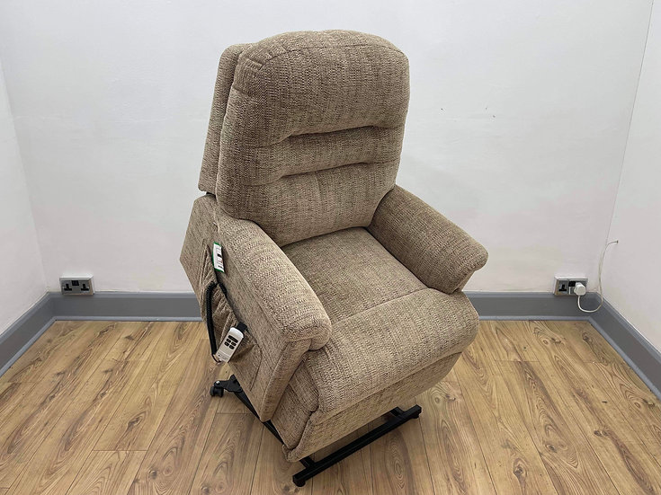 Sherborne Rise & Recliner Chair, Keswick Dual Motor Riser (Small)