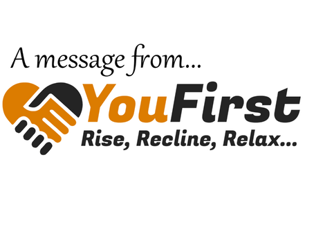A message from you first...