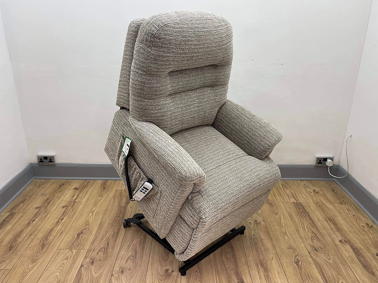 Sherborne Rise & Recliner Chair, Keswick Dual Motor Riser (Petite)