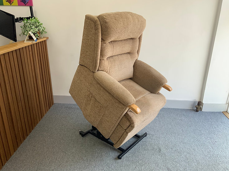 HSL Riser Recliner Chair,  Beige Ripley - Single Motor (Standard)