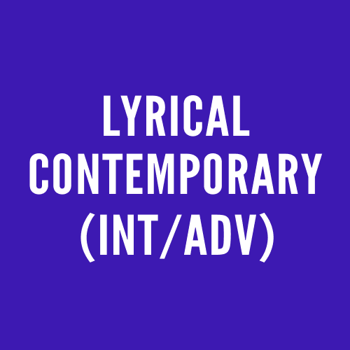 Lyrical Contemporary (Int/Adv)