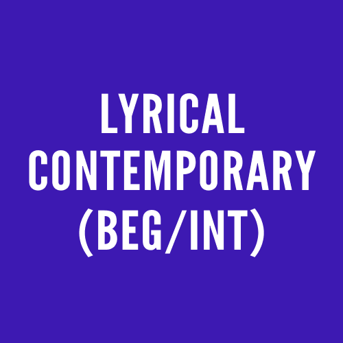 Lyrical Contemporary (Beg/Int)