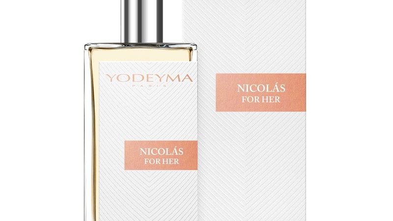 Nicholas For Her Eau De Parfum 50ml