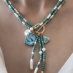 Semi-Precious Gemstone Beaded Necklaces