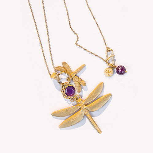 Dancing Dragonfly Necklace