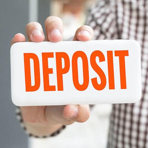REQUIRED - Vendor Deposit