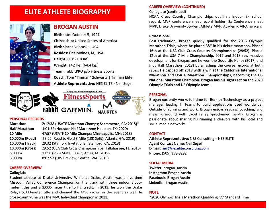 Brogan Austin Elite Athlete Biography.JP