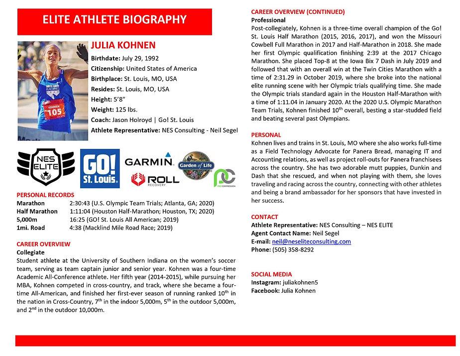 Julia Kohnen Elite Athlete Biography.JPG