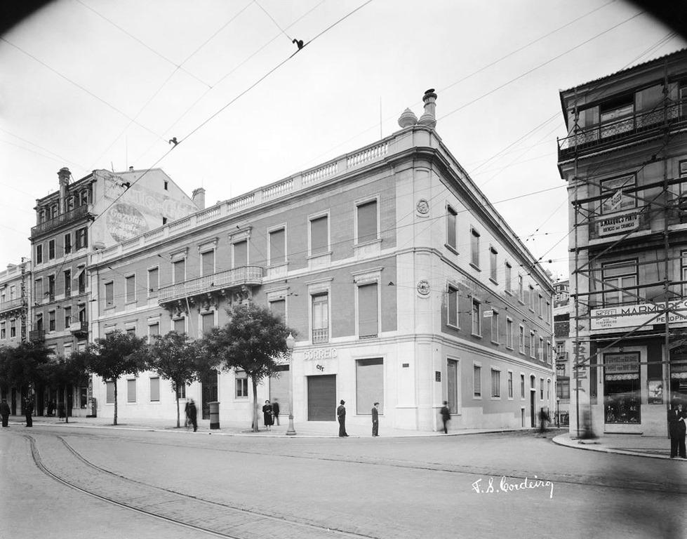 CTT Praça dos Restauradores -1939