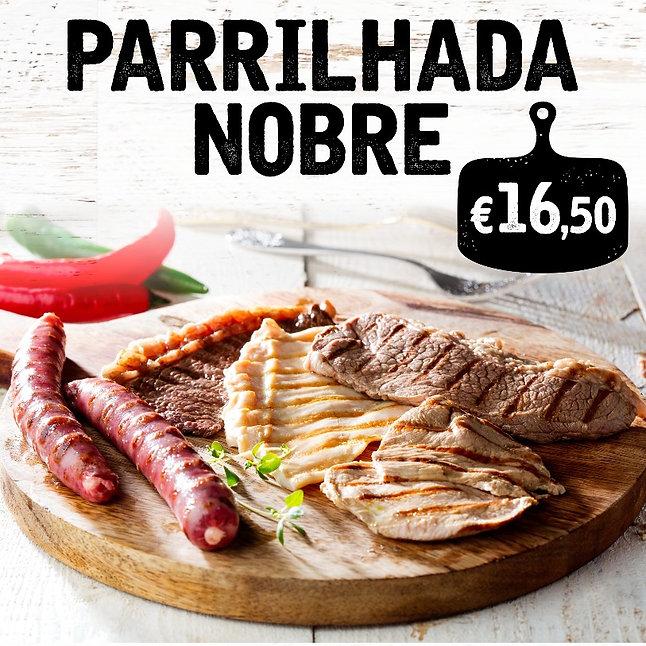 Promoção Parrilhada Nobre