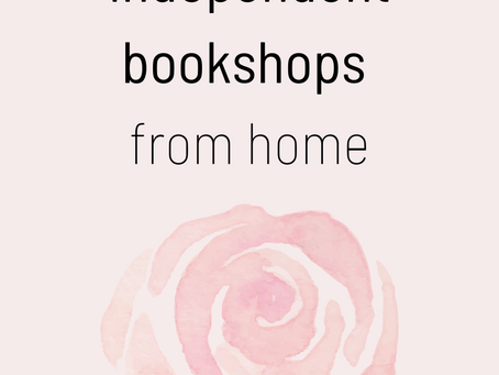 Supporting Independent Bookshops Without Leaving Your House (UK)