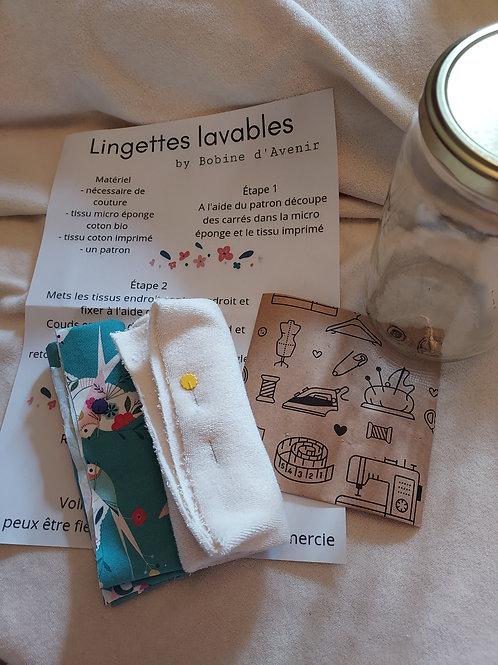 Kit home made lingettes