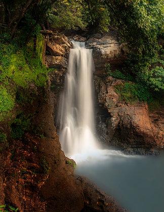 Waterfall of Harvalem, Goa, India