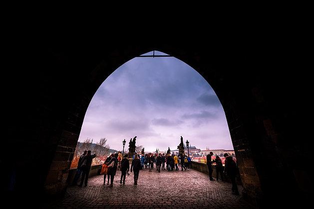 Entrance of Charles Bridge, Prague