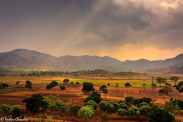 Evening Light, Telangana, India