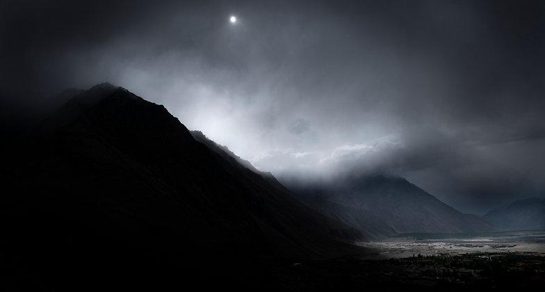 Moonrise, Leh, India
