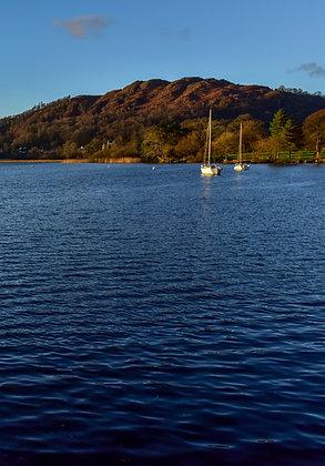 Serene Lake District, England