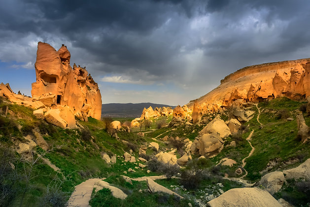 Capadoccia Chimneys, Turkey