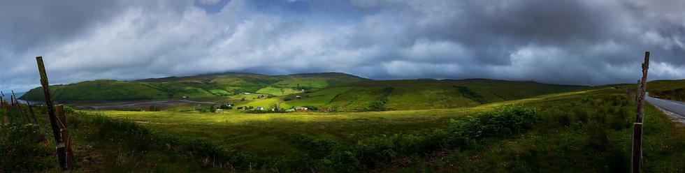 Panorama, Scottish Countryside