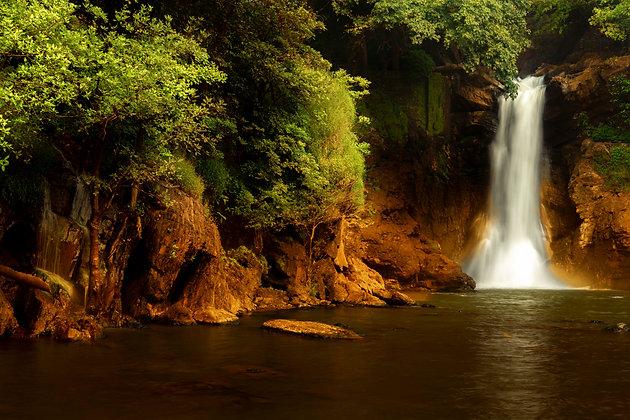 Harvalem Waterfall, Goa, India