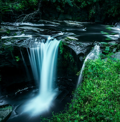 Aberdulais Waterfall, Cardiff, Wales