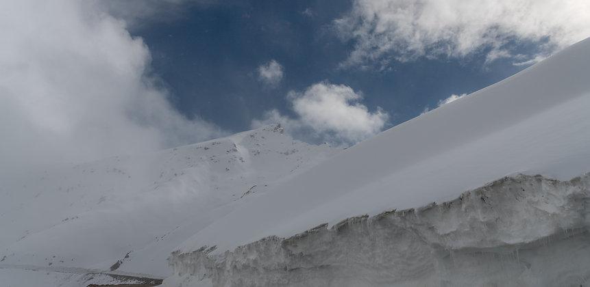 Snowy Mountains of Leh, India