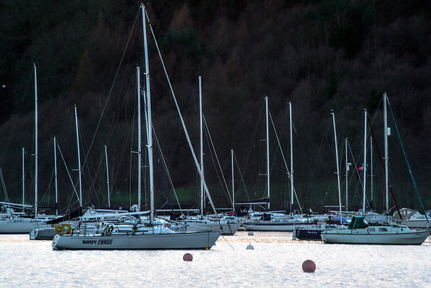 Yachts of Lake District, England