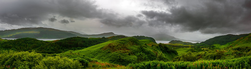 Hills of Isle of Skye, Scotland