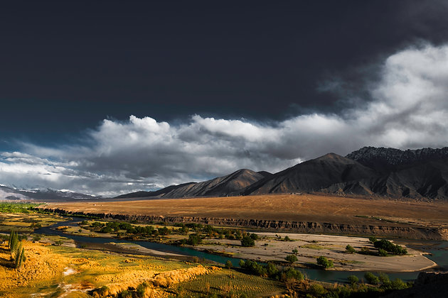 Clouds Over the Mountains of Leh, India