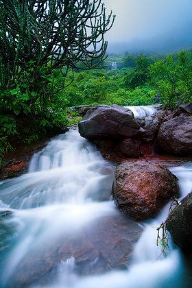 Waterfall of Lonavala, Maharashtra, India