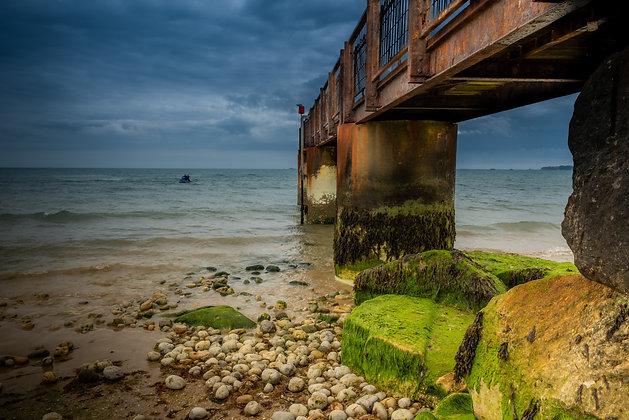 Old Bridge of Brighton, England
