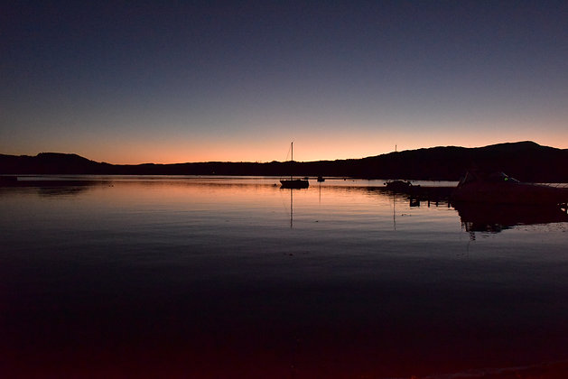 Twilight, Ambleside, Lake District, England
