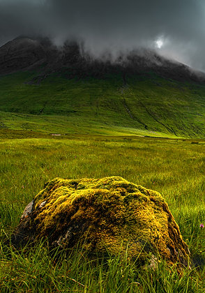 Mossy Rock, Isle of Skye, Scotland